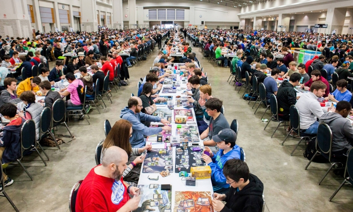 Magic: the Gathering Tournament with Children