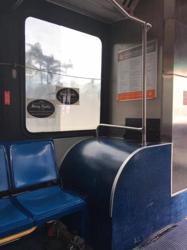Braintree resident Natalie Ornell said she was inspired by a simple tribute displayed on a Miami bus: a decal honoring Rosa Parks.