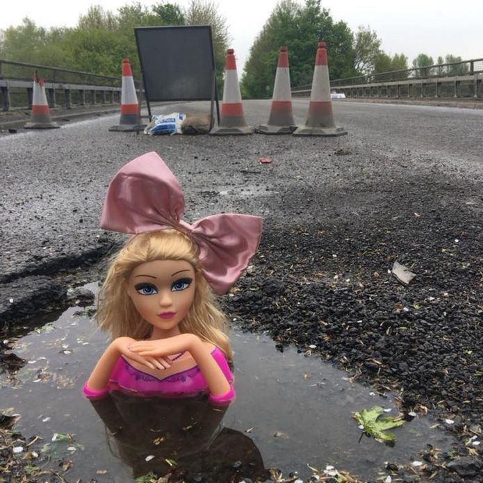 Pothole head, Wroughton, Wiltshire